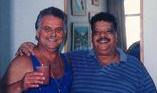Almir e Tim já na década de 90