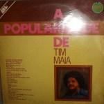 """1976- LP""""A popularidade de Tim Maia"""""""
