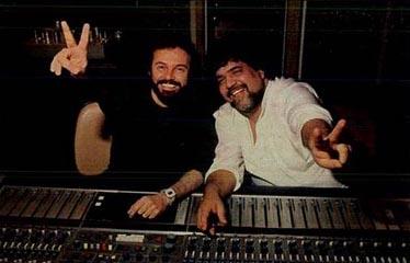 A dupla de compositores Paulo Massadas e Michael Sullivan